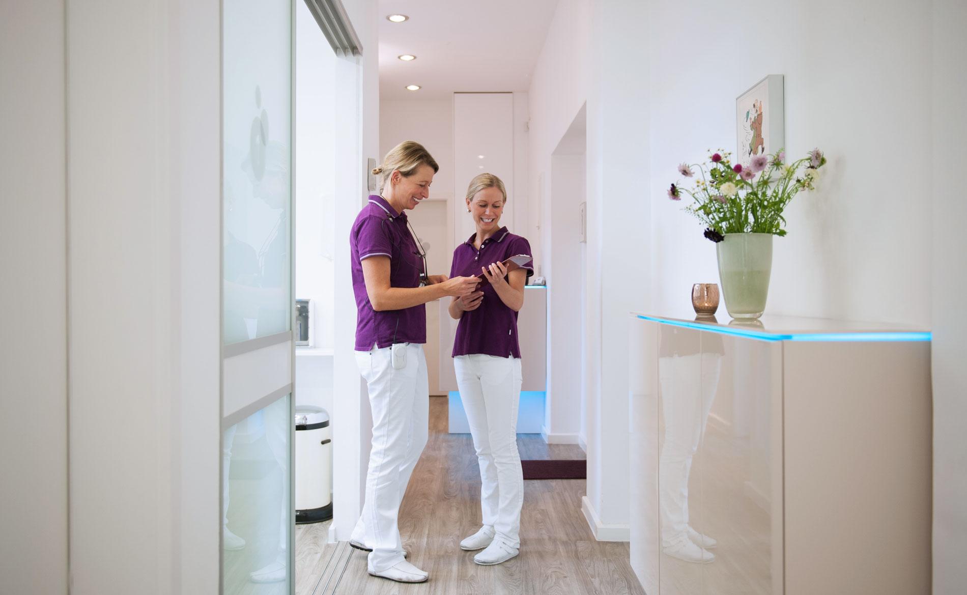 Zahnarzt Dr. Barbara Kammler-Wittig - Praxis Team